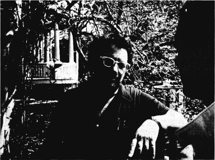 Joe Kubert utomhus svartvitt