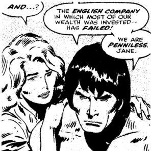 Tarzan av John Buscema, ruta