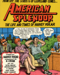 American Splendor: The Life and Times of Harvey Pekar omslag (1986)