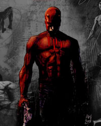 Daredevil tecknad av Alex Maleev. Copyright Marvel Comics.
