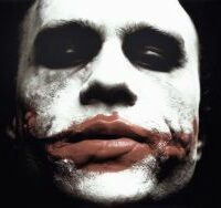 Heath Ledger som Jokern