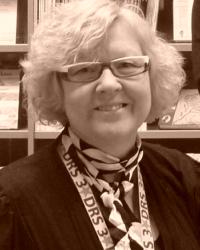Kristiina Kolehmainen (1956–2012). Bilden är hämtad från Serietekets blogg.
