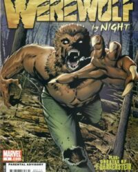 Legion of Monsters: Werewolf by Night omslag