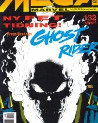 Mega Marvel nr 1/1992: Ghost Rider omslag