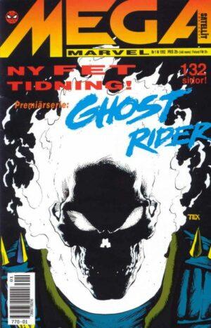 Mega Marvel nr 1/1992: Ghost Rider