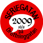Seriegatan 2009, logga