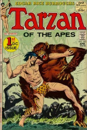 Tarzan nr 207 av Joe Kubert
