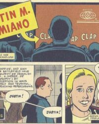 """Justin M. Damiano"" av Daniel Clowes"