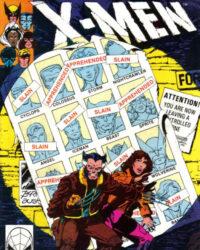 Omslaget till Uncanny X-men nr 141 (1981). Bild: John Byrne och Terry Austin. Copyright: Marvel Comics. Hämtat från Grand Comics Database.