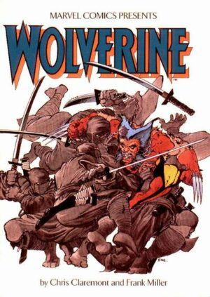 """1987 samlades miniserien """"Wolverine"""" från 1982 i en samlingsvolym. Bild: Frank Miller. Copyright: Marvel Comics."""