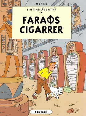 Tintins äventyr nr 4: Faraos cigarrer