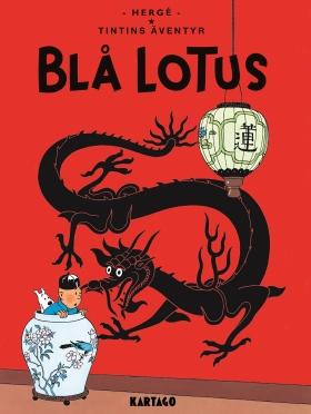 Tintins äventyr nr 5: Blå lotus