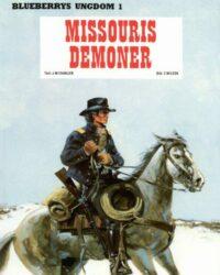 Blueberrys ungdom nr 1: Missouris demoner, omslag
