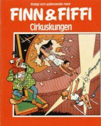 Finn och Fiffi nr 8: Cirkuskungen omslag