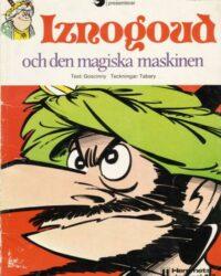 Iznogoud nr 4: Iznogoud och den magiska maskinen omslag