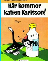 Katten Karlssons äventyr nr 1 omslag