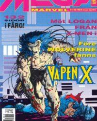 Mega Marvel nr 4/1992: Vapen X omslag