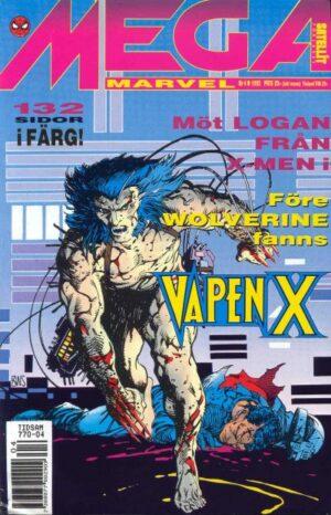 Mega Marvel nr 4/1992: Vapen X