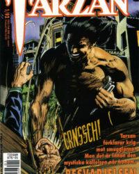 Tarzan 1/1992 omslag