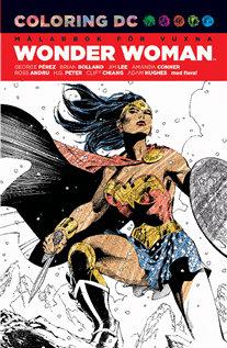 Kreativt målande nummer 3 – Wonder Woman målarbok